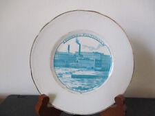 Circa 1910 Souvenir Dish Plate Oswego Falls Fulton New York