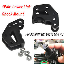 Aluminum Axle Lower Link Shock Mount for Axial Wraith 90018 1/10 RC Rock Crawler