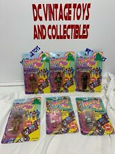 Wizard Of Oz Wind Up Walkers & Poseable Figure Lot Cowardly Lion 1988 - Sealed