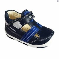 Geox B N Balu B B Boys Navy / Royal Summer Casual Shoes Size 20 21 22 23 24 25