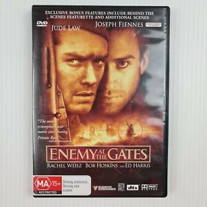 Enemy At The Gates DVD - Jude Law - Joseph Fiennes - Region 4 - TRACKED POST