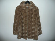 Manteau veste imitation fourrure Créations MICHEL à PARIS made in France T 38