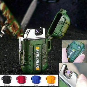 Survival USB lighters. Rechargeable ,Electric. Waterproof .TACTICAL USB LIGHTER
