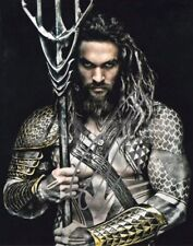 Jason Momoa signed 8x10 Autograph Photo Rp - Free Shipping! Aquaman Jla