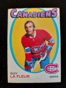 1971-72 OPC Guy Lafleur Rookie RC #148