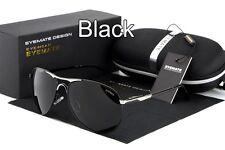 Polarized Men's Metal Frame Retro Outdoor Aviator Sunglasses Glasses Eyewear