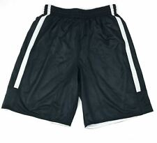 Nike Men's M Team League Reversible Shorts Basketball Training Black White