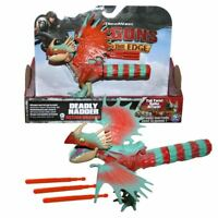 Dreamworks Dragons Deadly Nadder Spike Attack Action Figure Playset