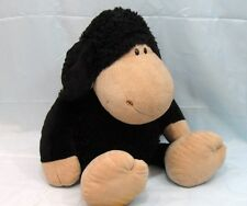 """NICI-""""SHEEP BLACK""""-extremely soft plush in cotone-cm.70, Sitting cm 50"""