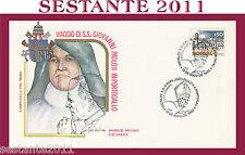 VATICANO FDC ROMA VISITA GIOVANNI PAOLO II PORTOGALLO COIMBRA  1982 (600)
