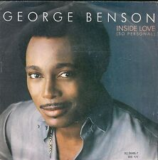 """45 TOURS / 7"""" SINGLE--GEORGE BENSON--INSIDE LOVE / IN SEARCH OF A DREAM--1983"""