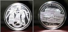 2003 Austria Large Silver  Proof- 10 euro-Schlosshof Palace/National Costumes