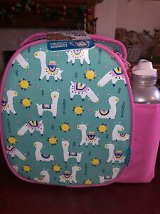 Pink Llama Insulated Lunch Bag And Flask