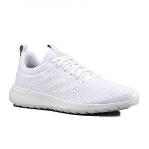 adidas Schuhe Sneaker Lite Racer CLN B96568 Cloudfoam Turnschuhe Mono Weiß SALE