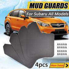 4pcs Mudflaps Mud Flaps Mudguard Splash Guards For Subaru Impreza Forester