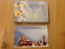 florist gift cards 10 Intotal 2 diff design congratulations baby boy