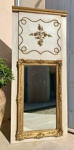 MIROIR TRUMEAU Restauration d'époque XIXe, hauteur 166 cm