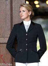 Pikeur Skarlett Ladies Dressage Coat Washable Black  10 R  Velvet Collar