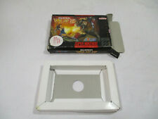 SUPER VALIS IV Super Nintendo SNES Authentic Box & Insert NO GAME CART!