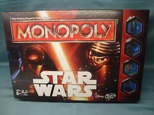 HASBRO B0324 MONOPOLY 'STAR WARS' EDITION BOARD GAME