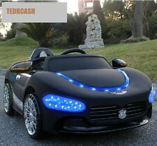 Maserati Children Electric Car Ride On with Remote Controller and Blue Headlight