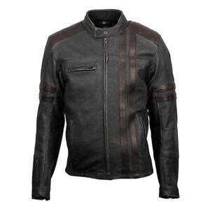 *Fast Free Shipping* Scorpion Exo Wear 1909 Vintage Leather Motorcycle Jacket