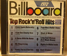 Billboard Top Rock & Roll Hits: 1972 - CD, Very Good - Jan-1989, Rhino (Label)