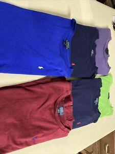 Polo Ralph Lauren Cotton Jersey Crewneck Tee - Boys Size XL Lot Green Blue Purpl