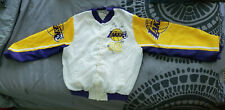 Vintage Magic Johnson Chalk Line Jacket NBA Fan Memorabelia