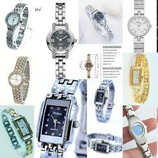 Ladies Women Dress or casual Wrist watch Steel link band Analog Quartz