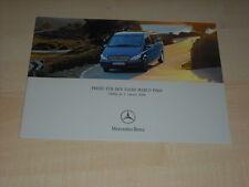 47765) Mercedes Viano Marco Polo Preise & Extras Prospekt 01/2004