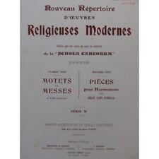GRIGI Raoul O Gloriosa Virginum Chant Orgue 1913 partition sheet music score
