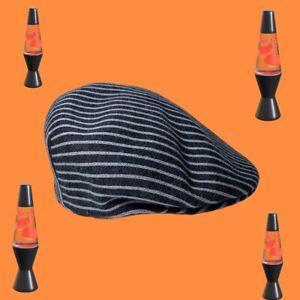 Kangol vintage flat cap hat XL