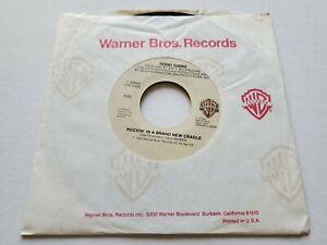"TERRI GIBBS - Rockin' In A Brand New Cradle / You Can't Run... 1985 COUNTRY 7"""
