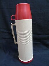 Vintage Thermos Hot / Cold Glass Insulated Vacuum Seal Model #2402 One Quart