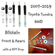 Toyota TUNDRA 07-19 BILSTEIN 24-232173 & 24-186971 LEVELING PACKAGE w Diff Drop