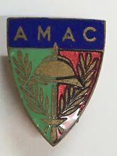 Insigne boutonnière AMAC Anciens Combattants Poilus 1914-18 WWI Fraisse Paris