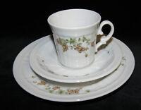 Eschenbach Porzellan 3 tlg Kaffee Gedeck Salzburg  Ranke Vintage