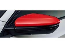 [NEW] JDM Honda CIVIC TYPE R FK8 Door Mirror Cover Frame Red Genuine OEM