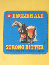 Whitbread English Ale Strong Bitter BEER MAT COASTER BREWERIANA Brewery