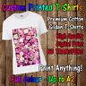 Ladies Custom Printed TShirt (HQ Print) Christmas/Personalised/Photo/Gift