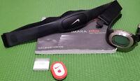 Nike Imara Digital Heart Rate Monitor Running Fitness Oval Sport Watch Black Set