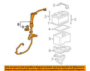 Chevrolet GM OEM 12-15 Captiva Sport-Battery Cable 22757924