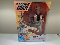 Estate Action Man Net Trapper Figure New Sealed Box 1999 Hasbro Very Hard Find