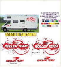 kit adesivi stickers compatibili camper roller team