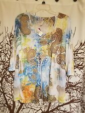 Bobbie Brooks brand new with tags 3/4 sleeve top women's plus size 2X (20-22)