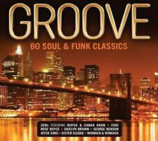 GROOVE 60 SOUL & FUNK CLASSICS 3 CD ALBUM SET (2016)