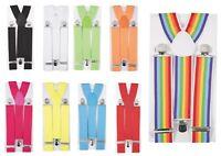Bretelles pour homme femme larges reglables elastiques ceinture pantalon braces