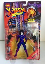 """1995 X-Men X-Force Domino 5-1//4/"""" Tall Action Figure Loose Complete ToyBiz"""