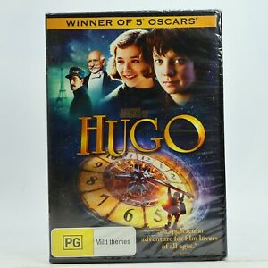 Hugo 2011 Ben Kingsley Jude Law DVD New Sealed Free Tracked Post
